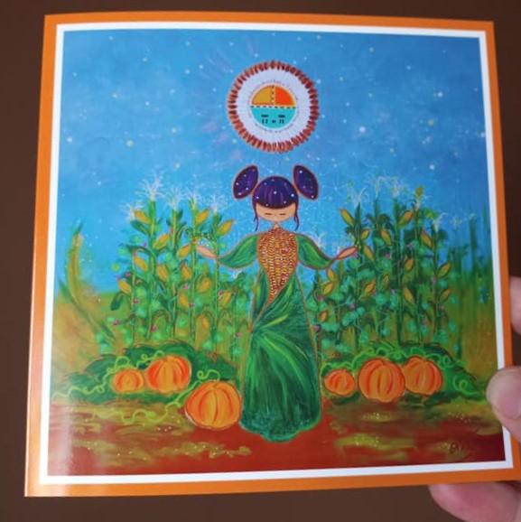 carte de voeu Gratitude par Anne-Claire JOFFROY